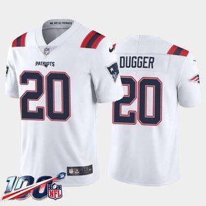 New England Patriots Kyle Dugger White Jersey
